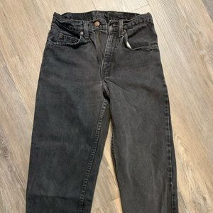 Vintage black Levi jeans